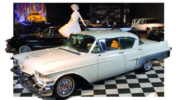 1957 Cadillac Fleetwood World of WearableArt & Classic Cars Museum