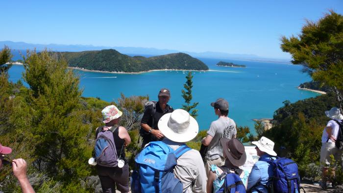 Astrolabe Is View Original Wilsons Abel Tasman Personalised Tours and Guides