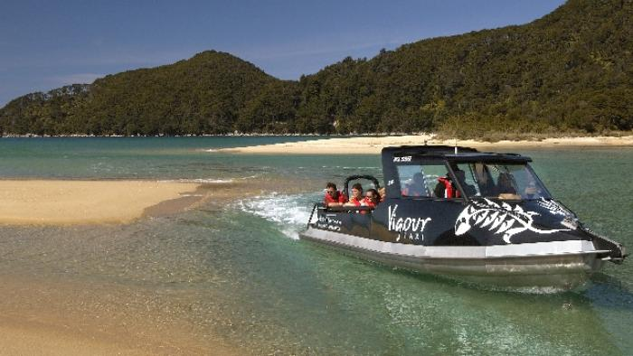 B Vigour BB Chanel Wilsons Abel Tasman Water Transport