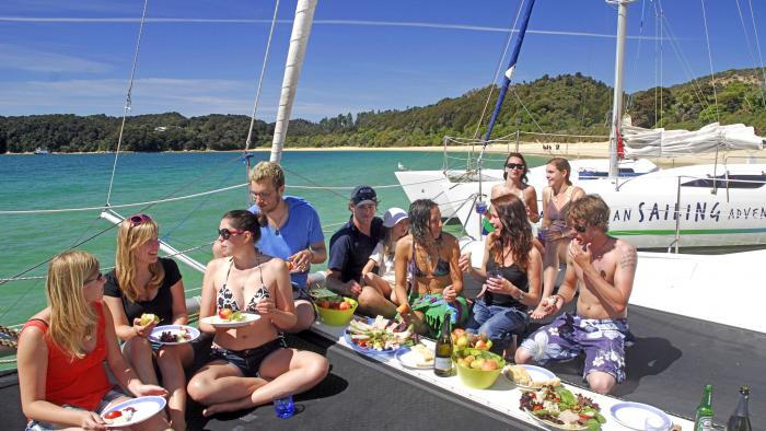 Exclusive Charters Lunchtime High Res Abel Tasman Sailing Adventures