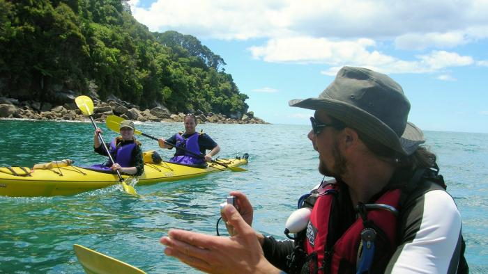 Kayak Guide 1 Wilsons Abel Tasman Personalised Tours and Guides