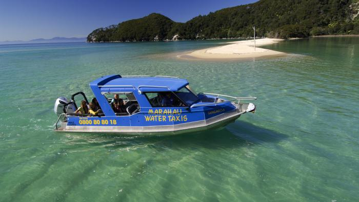 Marahau Water Taxis and bar main Marahau Water Taxis