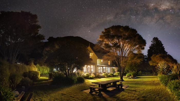 Meadowbank Homestead and Milky Way 2 Wilsons Beachfront Lodges Abel Tasman National Park