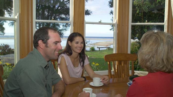 Meadowbank Tea 3 pax Wilsons Abel Tasman Personalised Tours and Guides