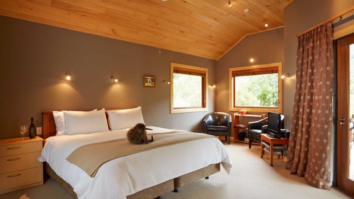 bush chalet bedroom4 The Resurgence Self-Contained Suites