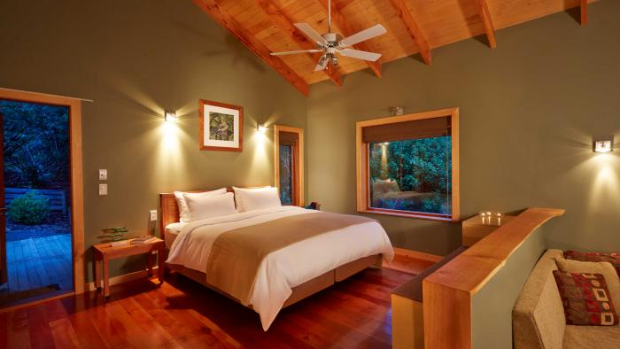 bush lodge bedroom2 The Resurgence Self-Contained Suites