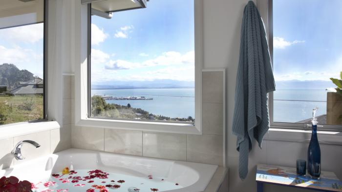 ensuite spa tub A Culinary Experience Luxury B and B