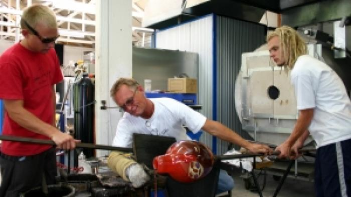 Hoglund Art Glassblowing Studio