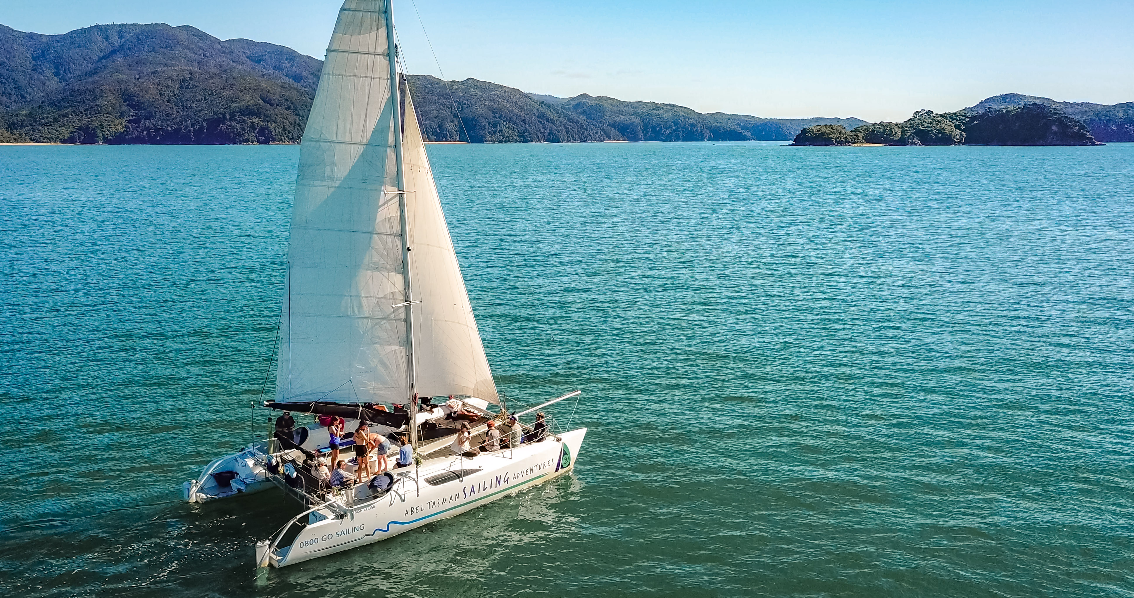 Day Tours With Abel Tasman Sailing Adventures Transport In