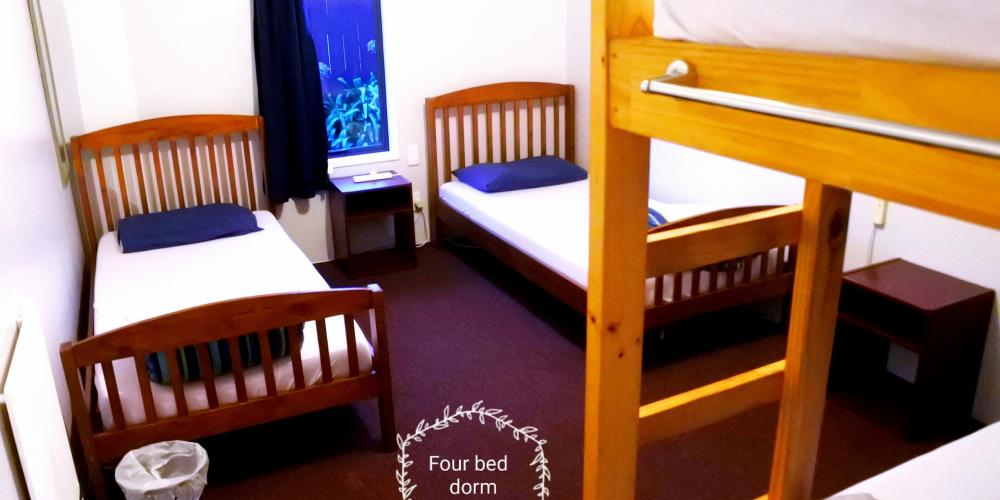 4 bed Laughing Kiwi Backpackers Motueka