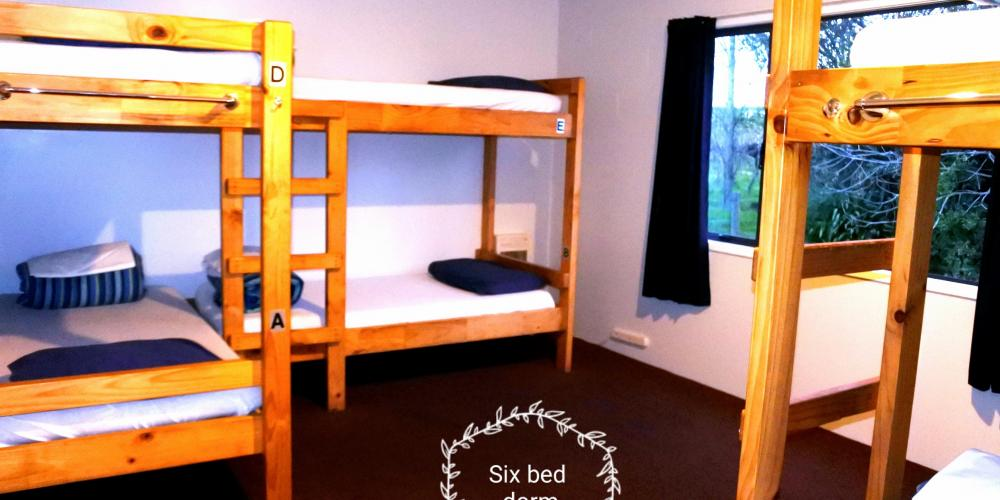 6 bed Laughing Kiwi Backpackers Motueka