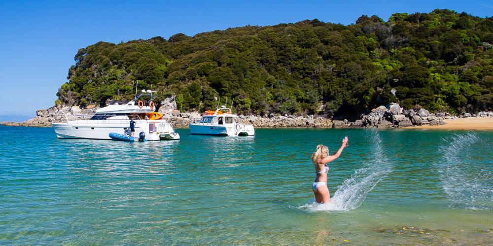ATC 21 Day tours with Abel Tasman Charters