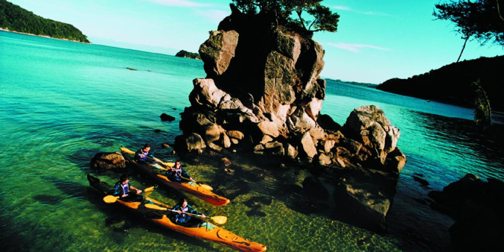 ATK FReedom Rentals Rock Low Res Abel Tasman Kayaks - Kayak Rental
