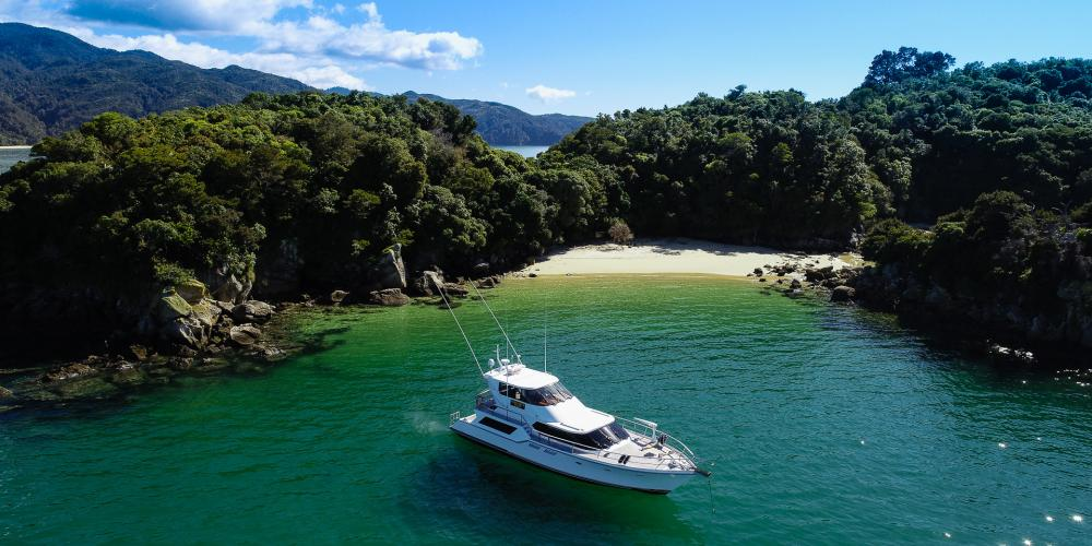 Abel Tasman Charters 16 Day tours with Abel Tasman Charters