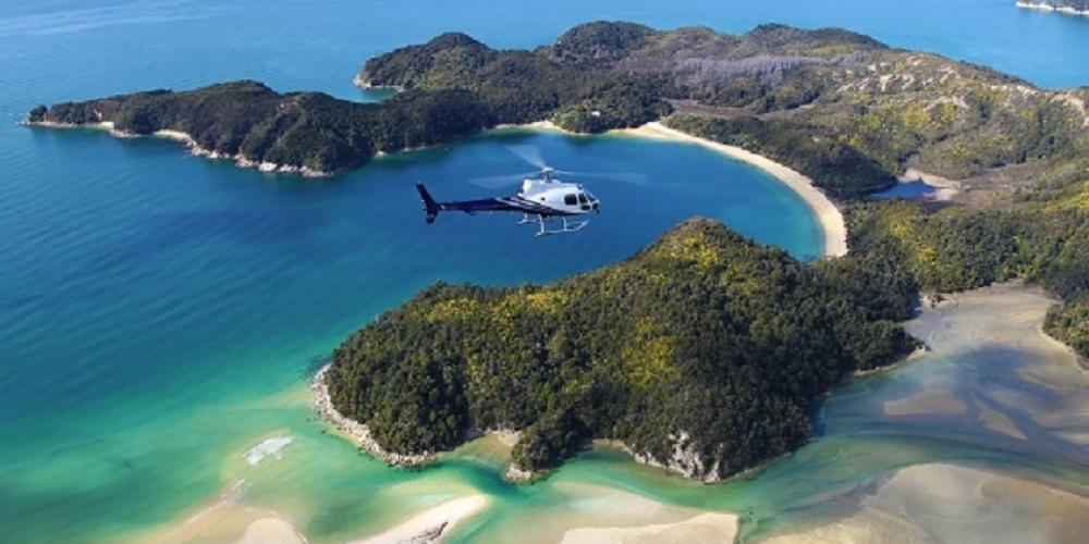 Abel Tasman4 Helicopters Nelson Top of the South