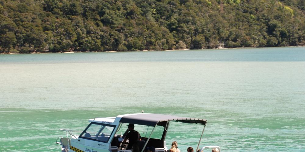 AquaTaxi Te Maki Torrent Bay Inlet 8 Abel Tasman AquaTaxi