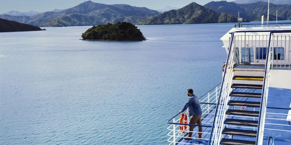 Bluebridge Cook Strait Ferry in Marlborough Bluebridge Cook Strait Ferries