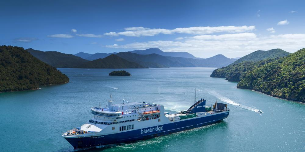 Bluebridge Ferries in Marlborough Sounds Bluebridge Cook Strait Ferries