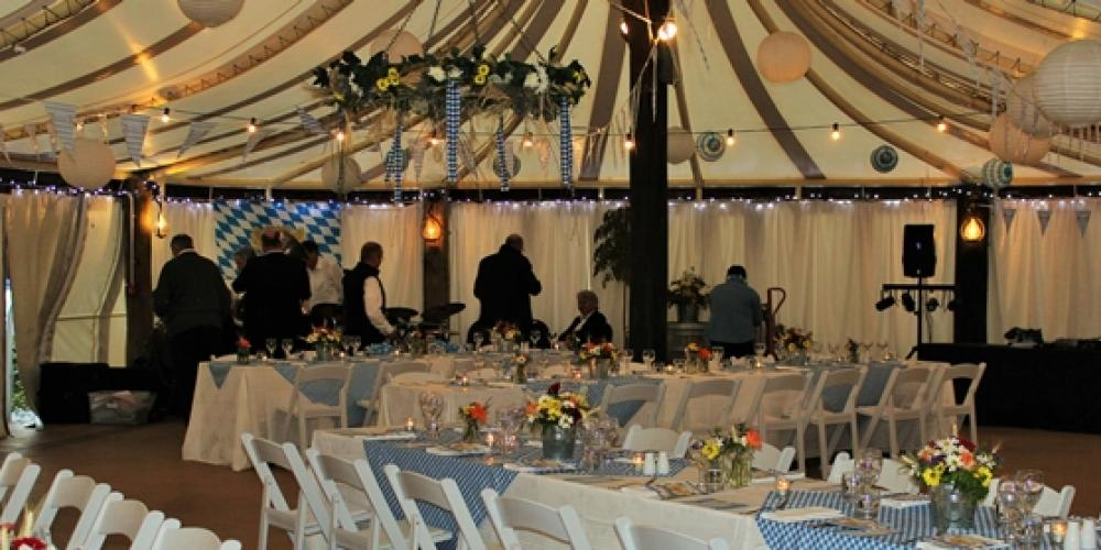 Conference Themed Dinner Set Up Village Hall 700px X 279px Grand Mercure Nelson Monaco