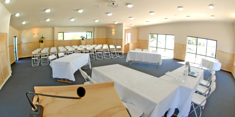 Conference room Meetings at Motueka TOP10 Holiday Park