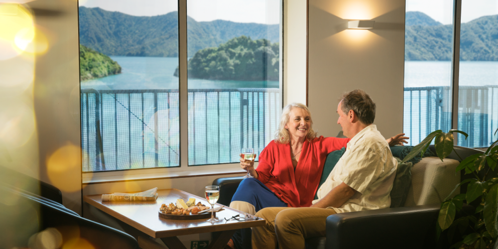 Couple indulge Interislander