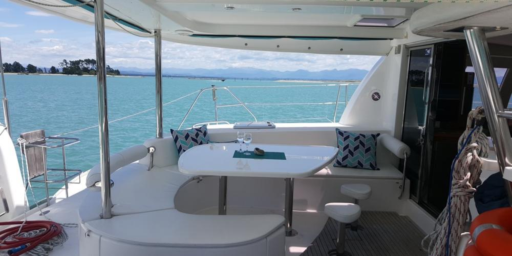 Deck Teh2 Scenic Holidays with Abel Tasman Sailing Adventures