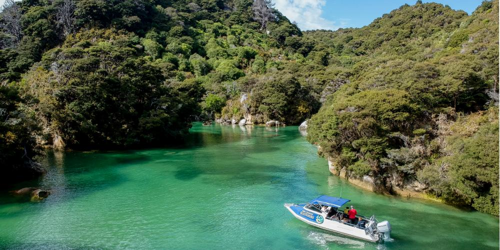 Eco Tours Boat Stills 1 of 4 Abel Tasman Eco Boat Tours