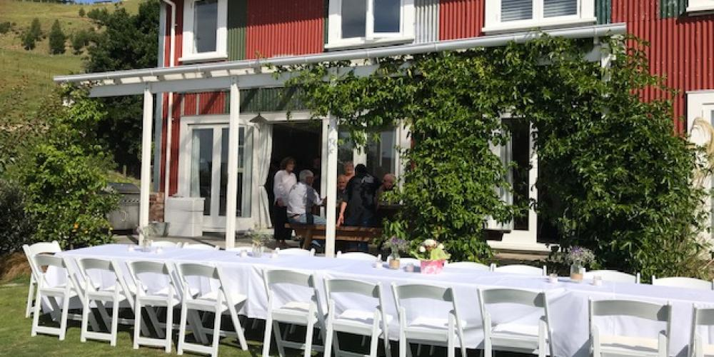Event on lawn The Pear Orchard Lodge - sleeps 16 (plus 4)