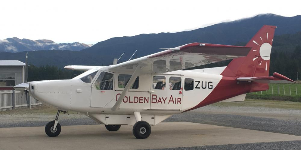 Golden Bay Air Airvan All products Scenic Flights from Takaka, Motueka and Nelson