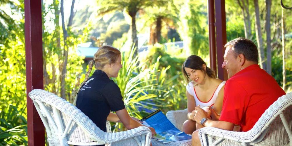 Guide at Meadowbank Wilsons Abel Tasman Personalised Tours and Guides