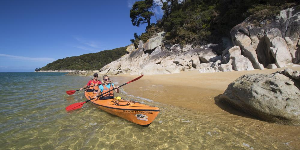 MSK golden sand 3 Marahau Sea Kayaks
