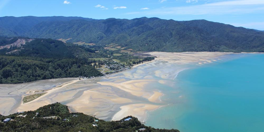Marahau Low Tide Nelson Tasman Air no credit required Marahau Beach