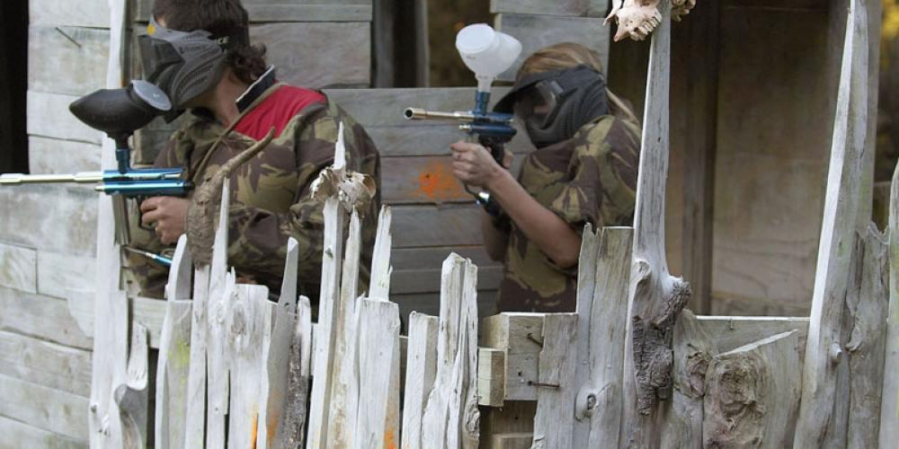 Paintball stockade2 Cable Bay Adventure Park