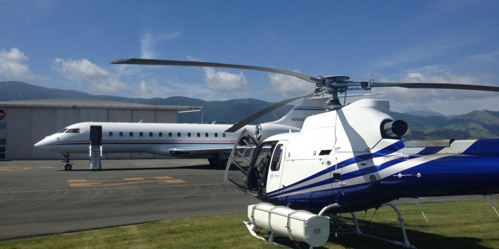 Private Charter page preview Reid Helicopters Nelson