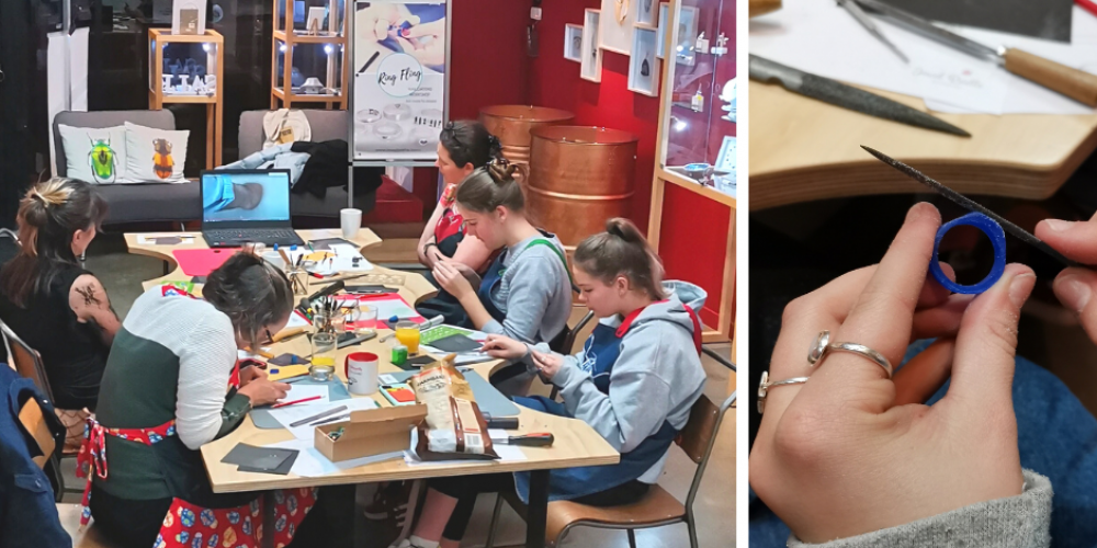 Ring Fling 2 Create your own ring at the Jewel Beetle Workshop