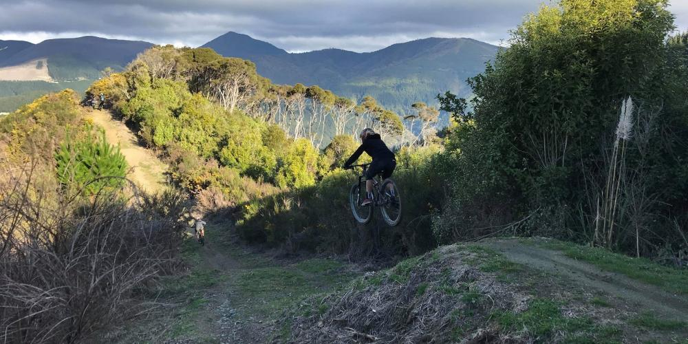 Sharlands MTB Park credit John Butler Gravity Nelson Sharlands Trails
