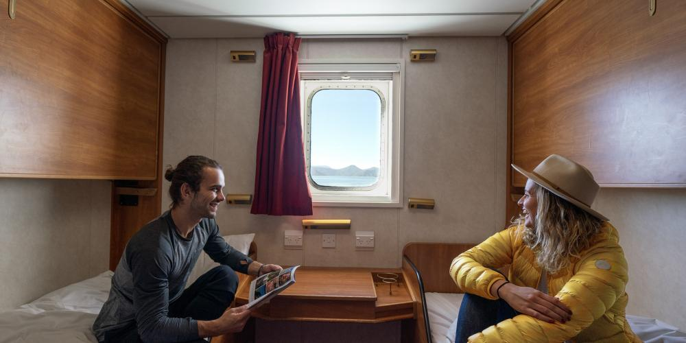 Smaller Bluebridge Ferries Private Twin Cabin Bluebridge Cook Strait Ferries