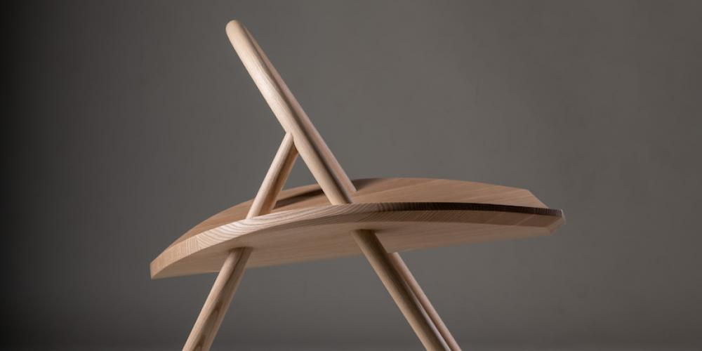 Stetson Seat Ben Alden American Ash The Centre for Fine Woodworking