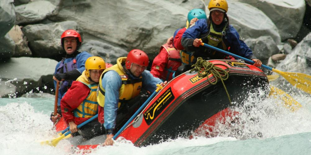 Ultimate Descents white water rafting Ultimate Descents New Zealand