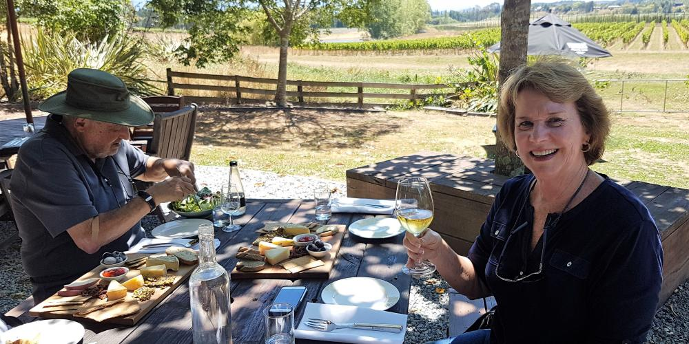 Wine and lunch Moutere New Zealand Private Tour