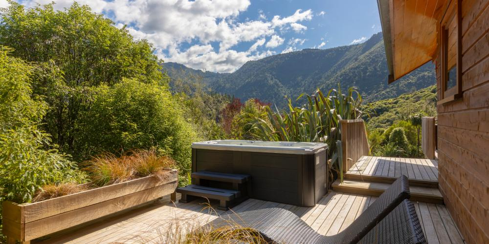 bush chalet deck The Resurgence Luxury Eco-Lodge