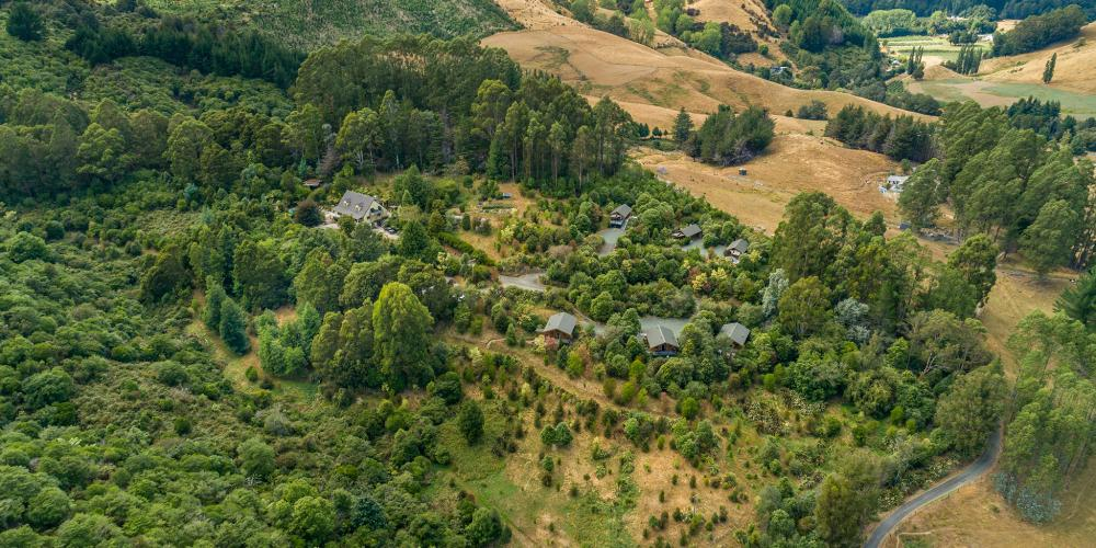 drone site 1 The Resurgence Luxury Eco-Lodge