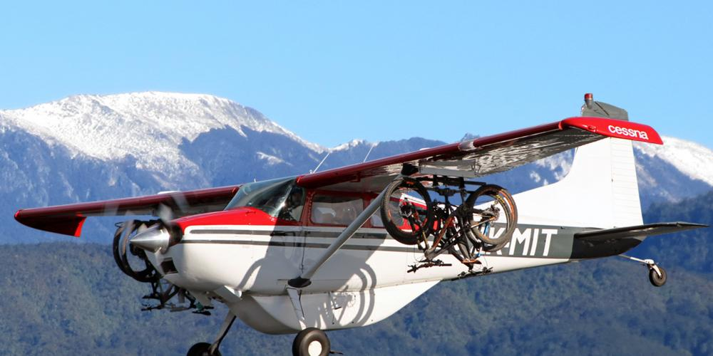 snow and cessna Heaphy Track Flights