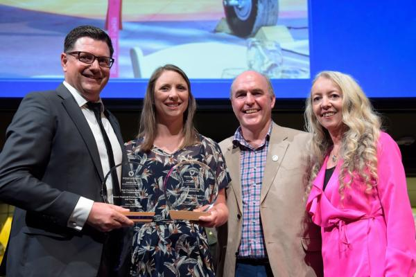Genuine collaboration wins national award