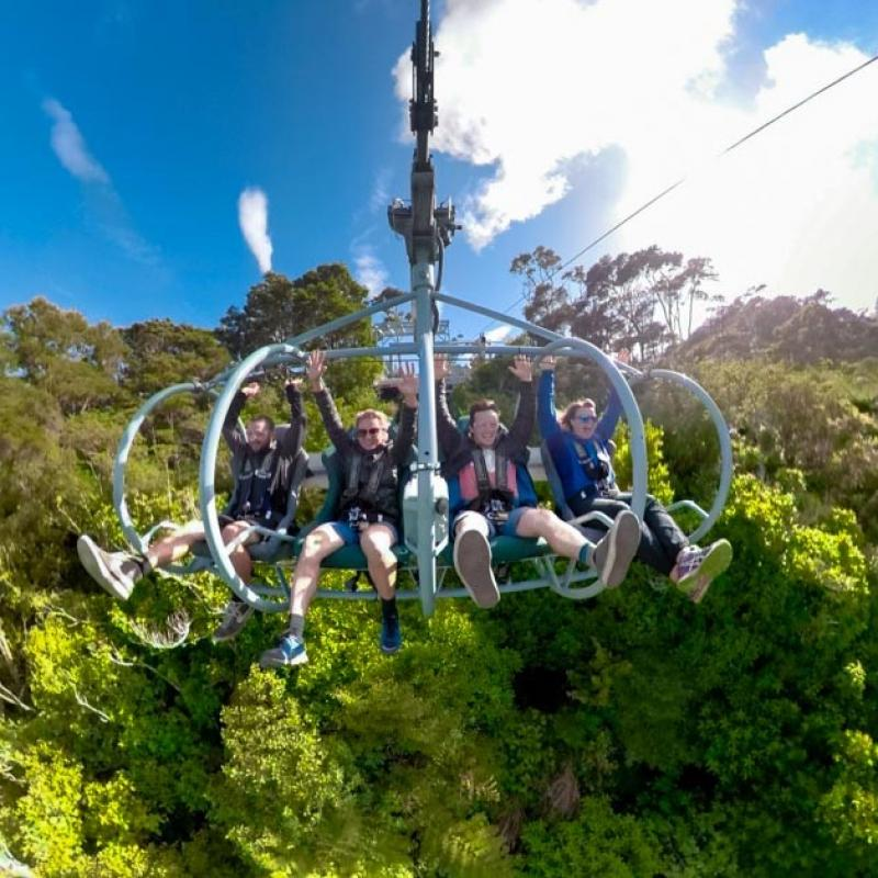 Thrills & Spills - Cable Bay Adventure Park